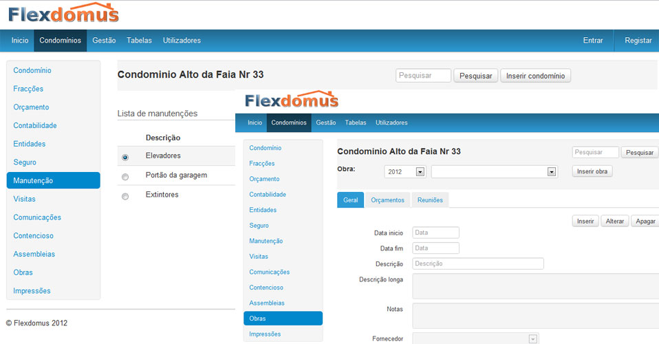 flexdomus software condomínios